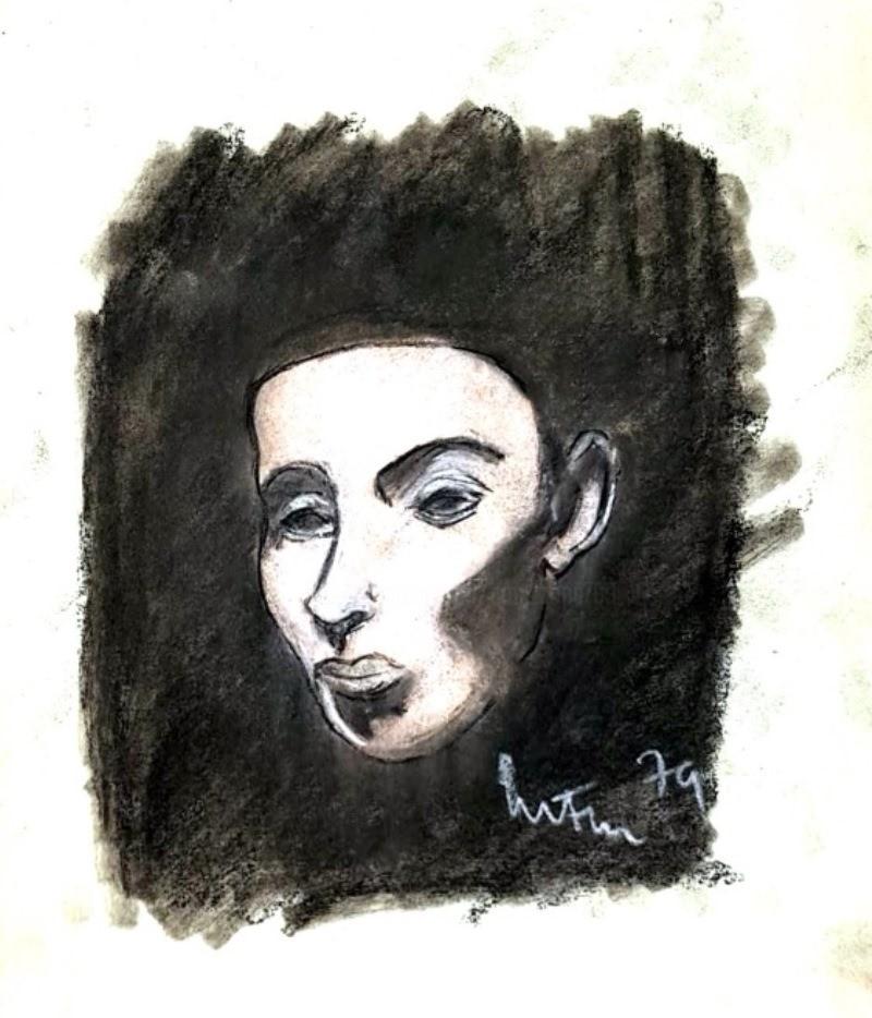 Mario Fanconi - volto d'uomo