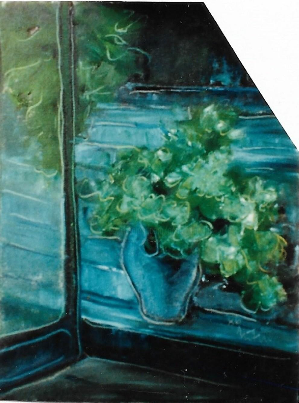 Mario Fanconi - Piante viste da una finestra