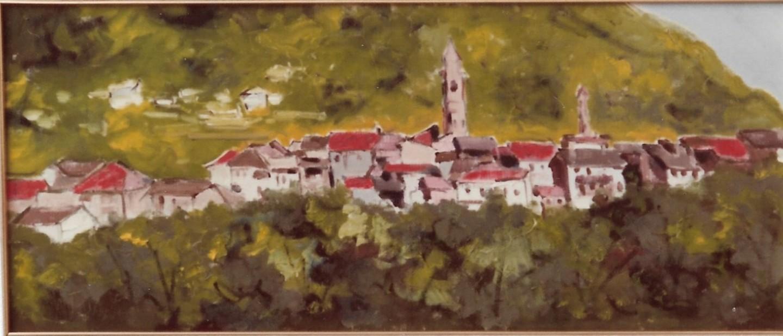 Mario Fanconi - Villaggio di montagna