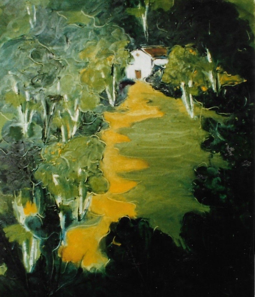 Mario Fanconi - Casa nel bosco