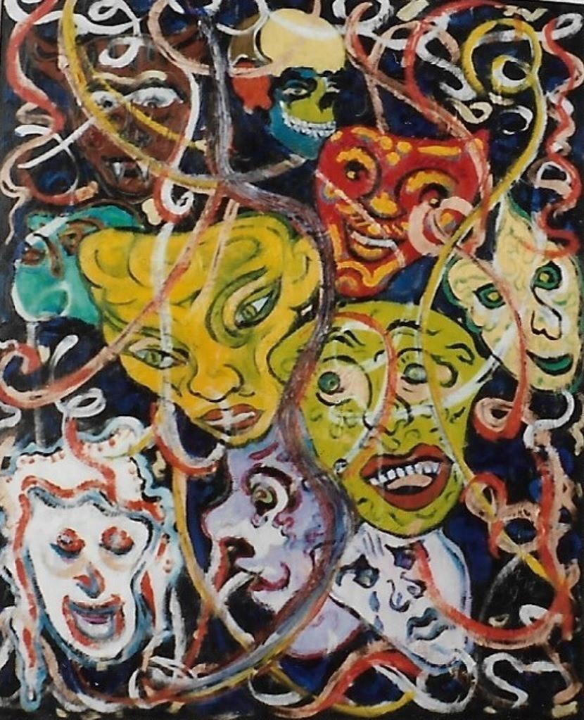 Mario Fanconi - Allegre maschere