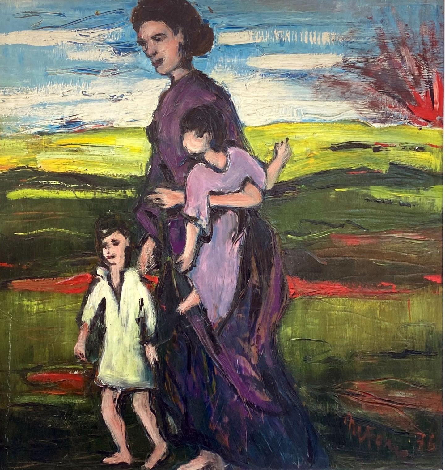 Mario Fanconi - Madre in fuga