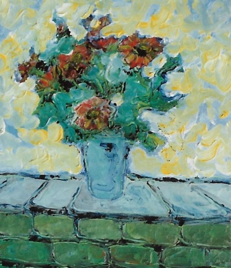 Mario Fanconi - Anemoni in vaso