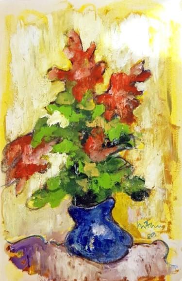 fioritura in un vaso