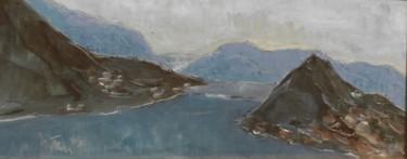 Veduta del lago di Lugano da Melide